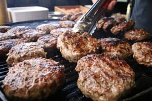 Our gourmet burger range