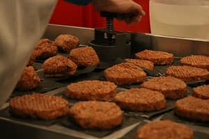 Gourmet Burgers in Production