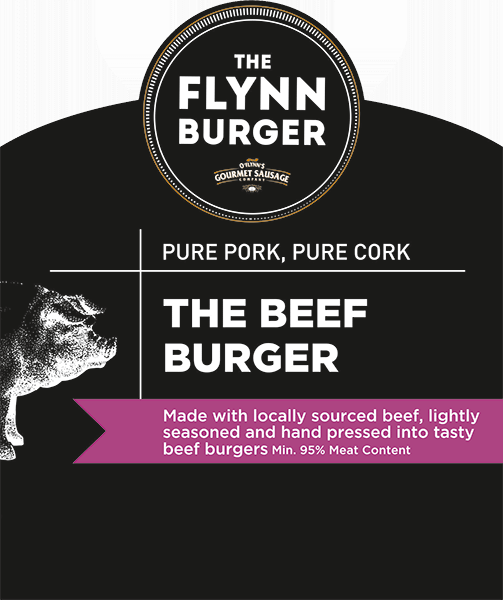 The Beef Burger Label
