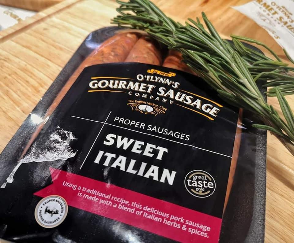 Sweet Italian O'Flynn's Gourmet Sausage Company
