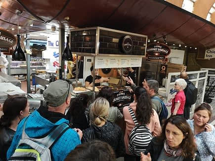 Busy O'Flynn's Stall in The English Market Cork