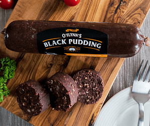 Black Pudding Chubb OFlynns Gourmet Sausage Company