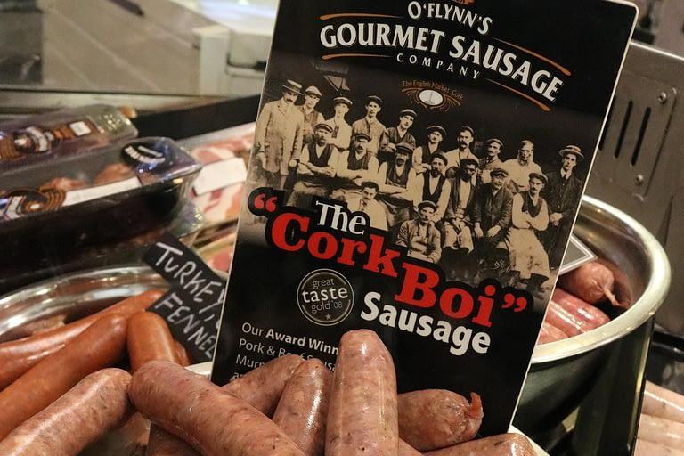 A photo of CorkBoi sausage.