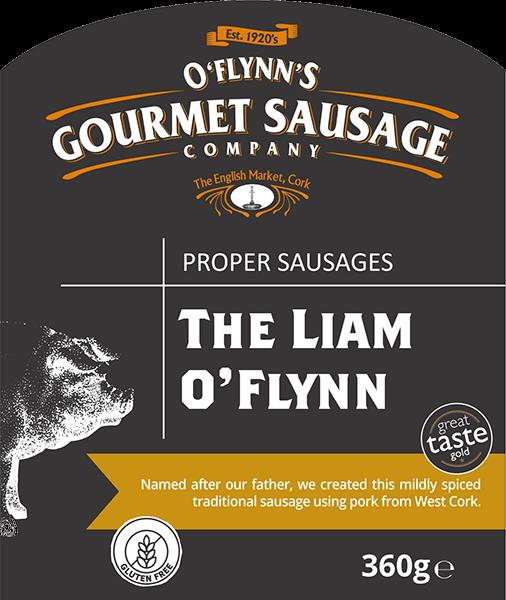 The Liam O'Flynn Packaging Label