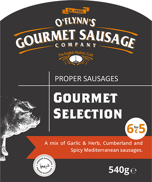 Gourmet Selection Packaging Label