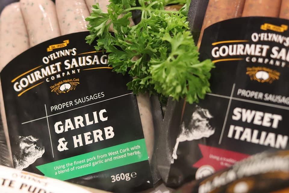Garlic & Herb Sausage O Flynns Gourmet Sausage Company
