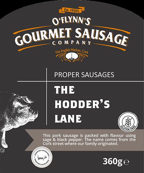 The Hodder's Lane Packaging Label