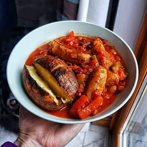 Sausage and Bean Casserole Recipe OFlynns Gourmet Sausage Company