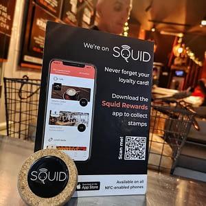 Squid Loyalty App at O'Flynn's