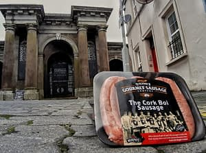 The Cork Boi outside The Butter Exchange Cork
